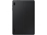 Husa Tableta Plastic Samsung Galaxy Tab S7 FE T730, Standing Cover, Neagra EF-RT730CBEGWW