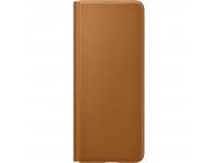 Husa Piele Samsung Galaxy Z Fold3 5G, Leather Flip Cover, Maro EF-FF926LAEGWW
