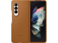 Husa Piele Samsung Galaxy Z Fold3 5G, Leather Cover, Maro EF-VF926LAEGWW