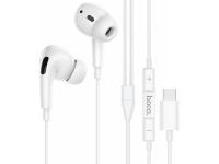Handsfree Casti In-Ear HOCO M1 PRO, Cu microfon, USB Type-C, Alb