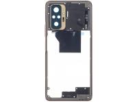 Carcasa Mijloc Xiaomi Redmi Note 10 Pro, Aurie