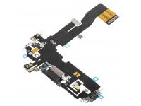 Banda Cu Conector Incarcare / Date - Microfon Apple iPhone 12, Negru
