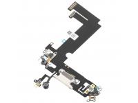 Banda Cu Conector Incarcare / Date - Microfon Apple iPhone 12 mini, Alb