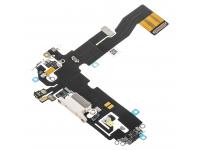 Banda Cu Conector Incarcare / Date - Microfon Apple iPhone 12, Alb
