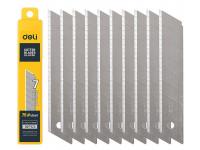 Lama Deli Tools  EDL-DP05, Pentru Cutter, 25mm, Set 10 bucati