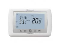 Termostat Tellur, Inteligent, WiFi, pentru Centrala Termica, Alb TLL331151