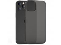 Husa TPU Tech-Protect UltraSlim pentru Apple iPhone 12 / Apple iPhone 12 Pro, 0.4mm, Matte, Neagra