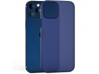 Husa TPU Tech-Protect UltraSlim pentru Apple iPhone 12 / Apple iPhone 12 Pro, 0.4mm, Matte, Bleumarin
