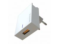 Incarcator Retea USB Swissten Travel, Quick Charge, 22.5W, 1 X USB, Alb