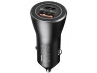 Incarcator Auto USB Remax RCC107, Quick Charge, 36W, 1 X USB - 1 x Type C, Negru