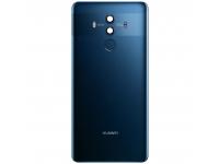 Capac Baterie - Geam Camera Spate - Senzor Amprenta Huawei Mate 10 Pro, Albastru 02351RWA