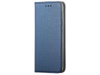 Husa Piele OEM Smart Magnet pentru Motorola Moto G10, Bleumarin