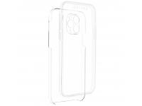 Husa TPU OEM Full Cover pentru Samsung Galaxy A02s A025F, Transparenta