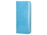 Husa Piele Forcell SHINING Book pentru Samsung Galaxy A22 LTE, Bleu