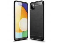 Husa TPU Tech-Protect Carbon Samsung Galaxy A22 5G, Neagra