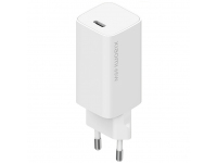 Incarcator Retea cu cablu USB Tip C Xiaomi, Quick Charge, 65W, GaN, 1 X USB Tip-C, Alb BHR4499GL