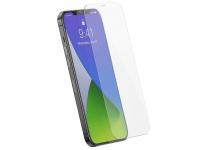 Folie Protectie Ecran Baseus pentru Apple iPhone 12 Pro Max, Sticla securizata, Full Face, Full Glue, 0.15mm, (Set 2 Bucati) SGAPIPH67N-FM02