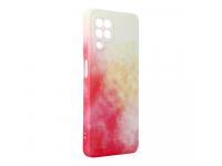 Husa Plastic Forcell Pop Design 3 pentru Samsung Galaxy A22 LTE, Multicolora