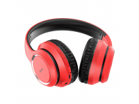 Handsfree Casti Bluetooth HOCO Journey W28, Over-Ear, Rosu