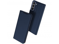 Husa Poliuretan DUX DUCIS Skin Pro pentru Samsung Galaxy S21 FE 5G, Bleumarin
