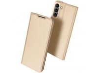 Husa Poliuretan DUX DUCIS Skin Pro pentru Samsung Galaxy S21 FE 5G, Aurie