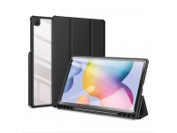 Husa Tableta Piele - Poliuretan DUX DUCIS Toby pentru Samsung Galaxy Tab S6 Lite, Neagra