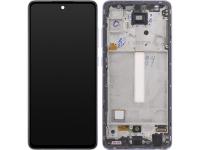 Display - Touchscreen Samsung Galaxy A52 5G, Cu Rama, Violet GH82-25524C