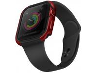 Husa Protectie Ceas UNIQ Valencia pentru Apple Watch Series 4 40mm / Apple Watch Series 5 / Apple Watch Edition Series 6, Rosie