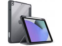 Husa Tableta TPU UNIQ Moven pentru Apple iPad 10.2 (2019) / Apple iPad 10.2 (2020), Antimicrobial, Gri