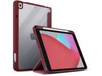 Husa Tableta TPU UNIQ Moven pentru Apple iPad 10.2 (2019) / Apple iPad 10.2 (2020), Antimicrobial, Rosie
