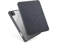 Husa Tableta TPU UNIQ Moven pentru Apple iPad Pro 12.9 (2021), Antimicrobial, Gri