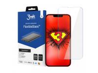 Folie Protectie Ecran 3MK pentru Apple iPhone 13 Pro Max, Sticla Flexibila, Full Glue, 7H