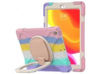 Husa Tableta Plastic - TPU Tech-Protect X-ARMOR pentru Apple iPad 10.2 (2020) / Apple iPad 10.2 (2019), BABY COLOR, Multicolor
