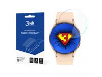 Folie Protectie Ecran 3MK pentru Samsung Galaxy Watch4 40mm, Plastic, Set 3 buc