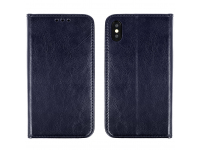 Husa Piele OEM Special Book pentru Xiaomi Redmi Note 10 5G, Bleumarin