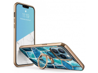 Husa Plastic - TPU Supcase IBLSN COSMO SNAP pentru Apple iPhone 13 Pro Max, Albastra