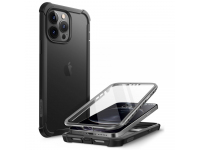 Husa Plastic - TPU Supcase Clayco Forza pentru Apple iPhone 13 Pro Max, Full Cover, Neagra