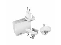 Incarcator Retea USB Silicon Power WC104P, 5V/4.4A, 4 x USB, Alb sp4a4asywc104puw
