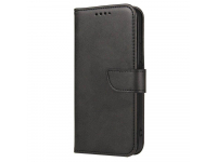 Husa Piele OEM Leather Flip Magnet pentru Samsung Galaxy S10 G973, Neagra