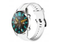 Curea Ceas OEM pentru Huawei Watch GT / Huawei Watch GT 2 Pro, Alba