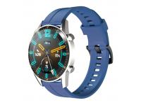 Curea Ceas OEM pentru Huawei Watch GT / Huawei Watch GT 2 Pro, Albastra