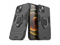 Husa TPU OEM Defender Armor pentru Apple iPhone 13, Neagra