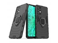 Husa TPU OEM Defender Armor pentru Samsung Galaxy A32, Neagra
