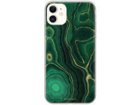Husa TPU BABACO Premium Marble 015 pentru Apple iPhone 12 / Apple iPhone 12 Pro, Verde