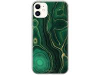 Husa TPU BABACO Premium Marble 015 pentru Samsung Galaxy S21+ 5G, Verde