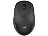 Mouse Wireless HAVIT MS76GT Mysz, 800-1600 DPI, Negru