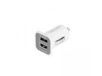 Adaptor auto Dual USB 3.1A Smart alb