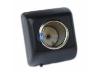 Adaptor priza Universal catre bricheta auto 220V-12V 6W