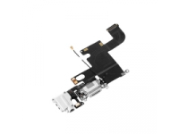 Banda cu conector incarcare / date audio si microfon Apple iPhone 6 alb