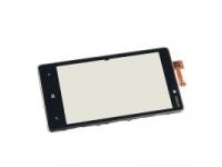 Carcasa fata cu touchscreen Nokia Lumia 820